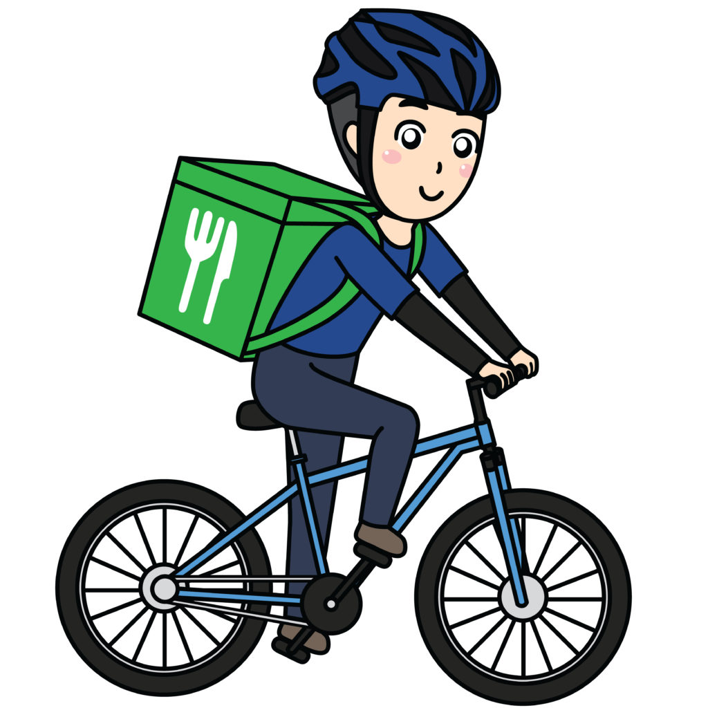 自転車宅配