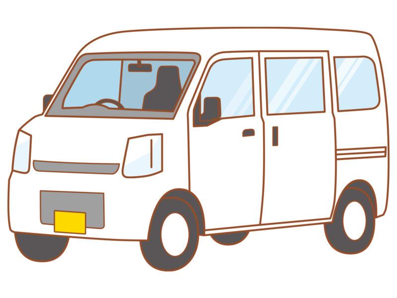 軽バンイラスト
